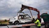 Další tragédie u Horoměřic: Senior sjel na rovince ze silnice, havárii nepřežil