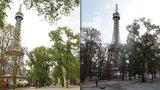 »Všichni na Petřín!« Rekonstrukce okolí pražské Eiffelovky skončila, přibyly stromy i schodiště