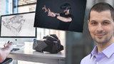 Vymyslel »kouzelné« brýle: Marek (31) pomocí virtuálních brýlí vás nechá proletěl Prahou, dokonce šetří miliony automobilkám