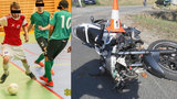 Motorkář vjel do davu na zastávce: Zabil futsalistu Láďu (†23)