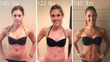 '26 fotek před a po, které dokazují, že váha není důležitá!'