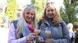 Turisté vyrazili za burčákem, na jižní Moravě teče doslova proudem