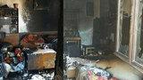 Výbuch domu na Svitavsku: Muž (†74) se popálil na 90 % těla. Zemřel v nemocnici