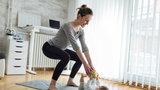'Cvičte doma: Plán na 6 týdnů a stačí jen pár minut denně!'
