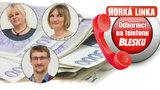 Vyšší důchody i více peněz pro marody! Jaké jsou další novinky? Na Horké lince Blesku odborníci z ČSSZ