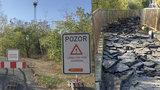 Bude jako nová: Opravy lávky, která spojuje Zličín s Řepy, mají skončit v dubnu