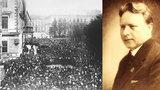 Starosta Brna Tomeš pořádal před 90 lety oslavy 28. října: Nacisté mu naočkovali tyfus
