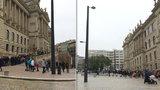 Oáza u Národního muzea se otevřela lidem! První den prošla zatěžkávací zkouškou, protnuly ji dlouhé fronty