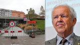 Odborník: K mostu na Vltavské chybí většina dokumentace. Nelze zjistit, v jakém je stavu