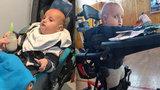 Šimonek (3) má vzácnou nemoc, nemůže pořádně jíst. Rodinu stojí péče až 15 tisíc měsíčně