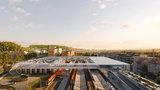 Praha vypsala tendr na projekt terminálu Smíchov: Dopravní uzel propojí vlaky, autobusy i parkovací dům