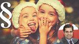 Vánoce a Ježíšek vás můžou dostat do basy: Vydírání dětí, týrání kapra, obecné ohrožení zapáleným stromečkem
