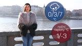 Počasí s Honsovou: Víkend přinese mrznoucí déšť, pak se oteplí až na 11 °C