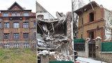 VIDEO: Takhle teď vypadá »rozbouraná« vinohradská vila. Že měl dům narušenou statiku? Pochybné, zní z radnice