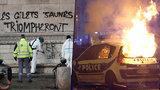 Protesty proti drahému benzinu: Tři mrtví, 900 zraněných a poničený Vítězný oblouk