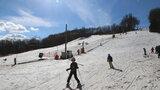 Na jižní Moravě začala už lyžařům sezóna: Jako první otevřeli ski areál v Němčičkách