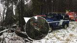 Dramatická záchrana zřícené horolezkyně: Záchranáři museli do výstroje a zlézt skalní stěnu