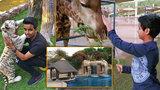 Na návštěvě u mladičkého miliardáře: Na zahradě chová lvy a orangutany. Garáž skrývá dobře střežené klenoty