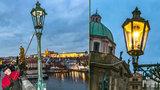 Světlonoš z Karlova mostu: Jan (60) je jedním z posledních lampářů světa, každý den rozsvěcí centrum Prahy