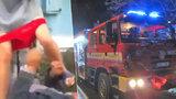 Smrt v plamenech: Nejslavnější zlínská výtržnice unikla! Kamarádi však zemřeli