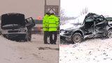 Tragédie na zasněžené D1: Elenu (†36) smetl autobus! Tři malé děti přišly o mámu