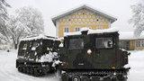 Přívaly sněhu trápí Evropu: V Německu ochromily dopravu, chlapce (†16) zabila v Rakousku lavina