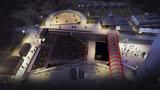 Pod Žižkovskou věží vznikne divadelní amfiteátr za 10 milionů. Plachtu na něj šijí v Africe