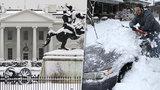 Bouře si v USA vyžádala sedm mrtvých. Pod sněhem zmizel i Bílý dům