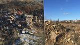 Místo sportovního areálu rostoucí hora odpadu: Prahu 5 trápí motolská skládka, odstranění vyjde na půl miliardy