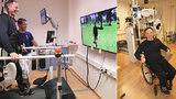 Fotbalista Tomáš (39) ochrnul po autonehodě: Po 18 letech udělal krok! Díky virtuální realitě