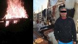V lyžařském středisku shořela chata: Majitele našli oběšeného v dřevníku