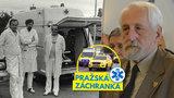 """Legenda pražské záchranky František Ždichynec (75): """"Měli jsme fantastický mančaft"""""""