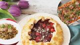 Luxusní valentýnské menu plné chutí: Pizzu, těstoviny a křehké galetky hravě zvládnete i doma!