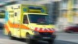 Řidič dodávky vjel na Znojemsku pod náklaďák: Zemřel na místě