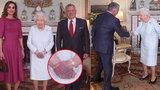 Starost o zdraví královny (92): Obří modřina na ruce! Královský palác mlčí!