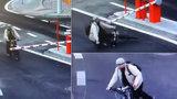 Koukal, kde co lítá, a narazil do závory: Policisté po roztržitém cyklistovi pátrají