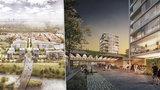 VIZUALIZACE: Architekti představili novou podobu Karlína: Má vzniknout i park s potenciálem Stromovky
