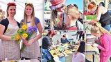 Rodiny s dětmi zaplnily holešovické výstaviště. Jarní trhy baví řemeslnými dílnami