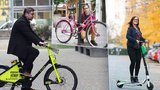 Elektrokola zaplaví Prahu: V ulicích jich přibude 500, parkovat mají ve virtuálních stanicích