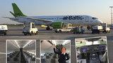 Mezi Prahou a Rigou létá nový Airbus: Linku obsluhuje větší a tišší stroj, vozí i prezidenta