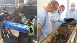Záhada kovové rakve: V Brně našli kostru neznámé ženy, byla to blondýnka