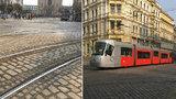 Oprava tramvajové trati na »Strossu« začíná: Největší problémy přijdou o Velikonocích