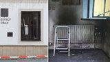 První foto! Radnice v Rýmařově je po výbuchu černá jako uhel: Podezřelý je na psychiatrii