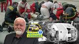 Čtyřicet let zachraňuje v Praze životy: Záchranář Honza (63) zažil tragédii u Špejcharu i požár hotelu Olympik
