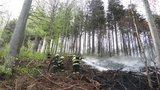 Na Moravě, Vysočině i části Čech hrozí do pondělí požáry. Pak už sprchne