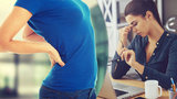 Za bolavá záda může mobil, dítě i špatné sezení. Ženy trpí více, co (ne)dělat?