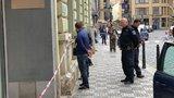 Střelba v centru Prahy! Dva muži se rozčílili, že nemohli do restaurace. Ochranka na ně vyběhla s baseballkami