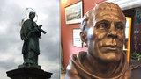 Jak vypadal Jan Nepomucký? V Praze je výjimečně vystavená skutečná tvář světce