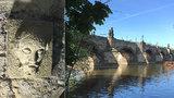 Pod Karlovým mostem je nejstarší vodočet. Když byla voda u Bradáče, Pražané prchali
