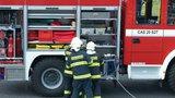 Na Kroměřížsku se zhroutila část domu: Hasiči museli rodinu evakuovat